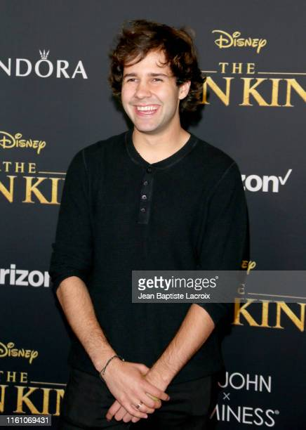 David Dobrik attends the premiere of Disney's The Lion King at Dolby Theatre on July 09 2019 in Hollywood California