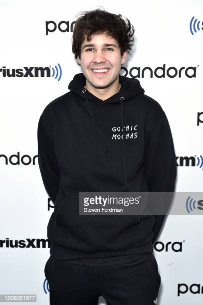 David Dobrik visits SiriusXM Studios on February 13 2020 in New York City