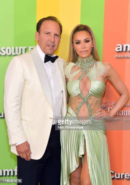 David Dollinger and Tara Dollinger attend the 2019 amfAR Gala Los Angeles at Milk Studios on October 10 2019 in Los Angeles California