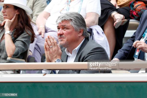 David Douillet attends the 2019 French Tennis Open Day Four at Roland Garros on May 29 2019 in Paris France