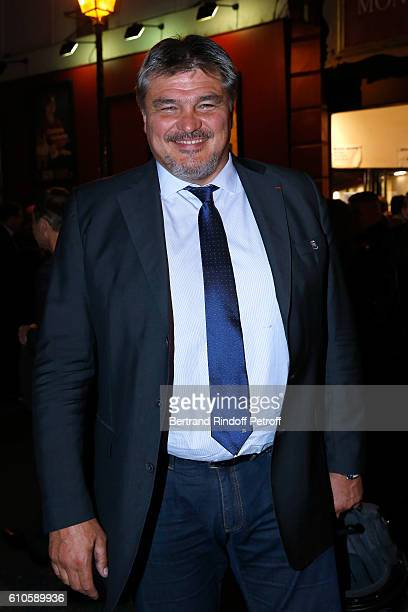 David Douillet attends the 'Trophees du Bien Etre' 2nd Award Ceremony at Theatre Montparnasse on September 26 2016 in Paris France