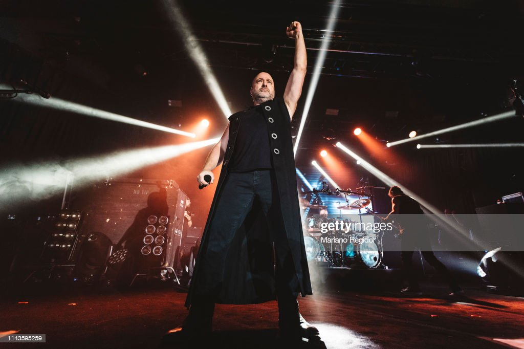 ESP: Disturbed Perform In Concert In Madrid