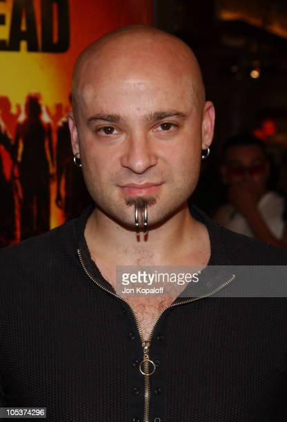 David Draiman of Disturbed during 'Dawn of The Dead' Los Angeles Premiere at Cineplex Beverly Center Theatres in Beverly Hills California United...