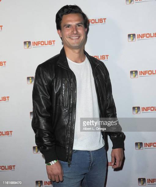 David Dubinsky attends InfoListcom's PreComicCon Bash held at Wisdome Immersive Art Park on July 11 2019 in Los Angeles California
