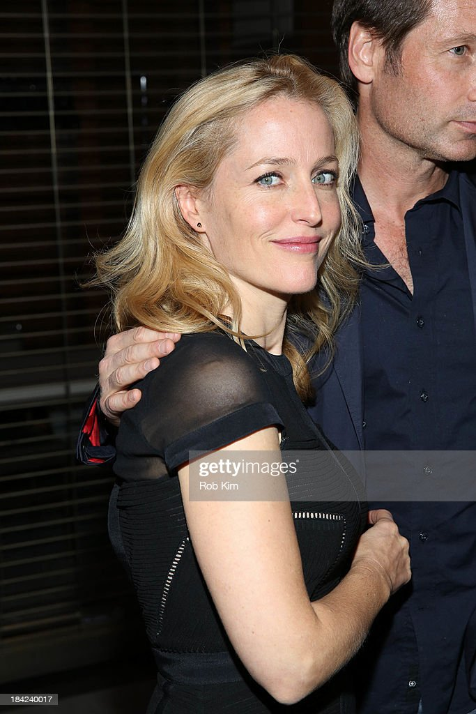 David Duchovny and Gillian Anderson attend 'The Truth Is Here: David Duchovny And Gillian Anderson On The X-Files' presented by the Paley Center For Media at Paley Center For Media on October 12, 2013 in New York City.