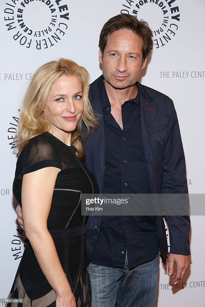 """Paley Center For Media Presents:""""The Truth Is Here: David Duchovny And Gillian Anderson On The X-Files"""" : News Photo"""