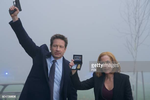 David Duchovny and Gillian Anderson in the Familiar episode of THE XFILES airing Wednesday March 7 on FOX