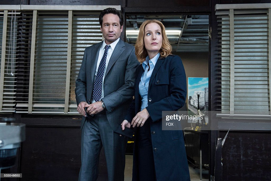 "FOX's ""The X-Files"" : News Photo"
