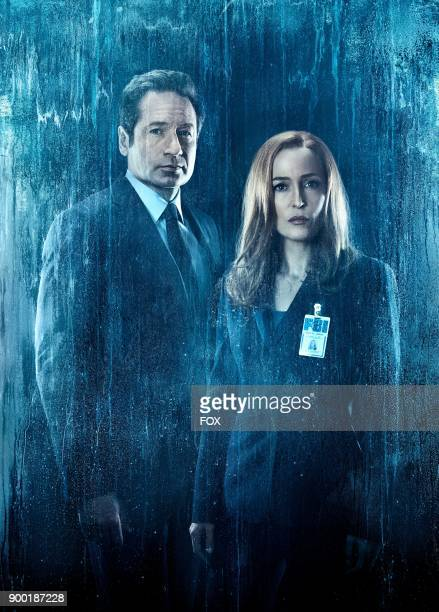 David Duchovny and Gillian Anderson in THE XFILES premiering Wednesday Jan 3 on FOX