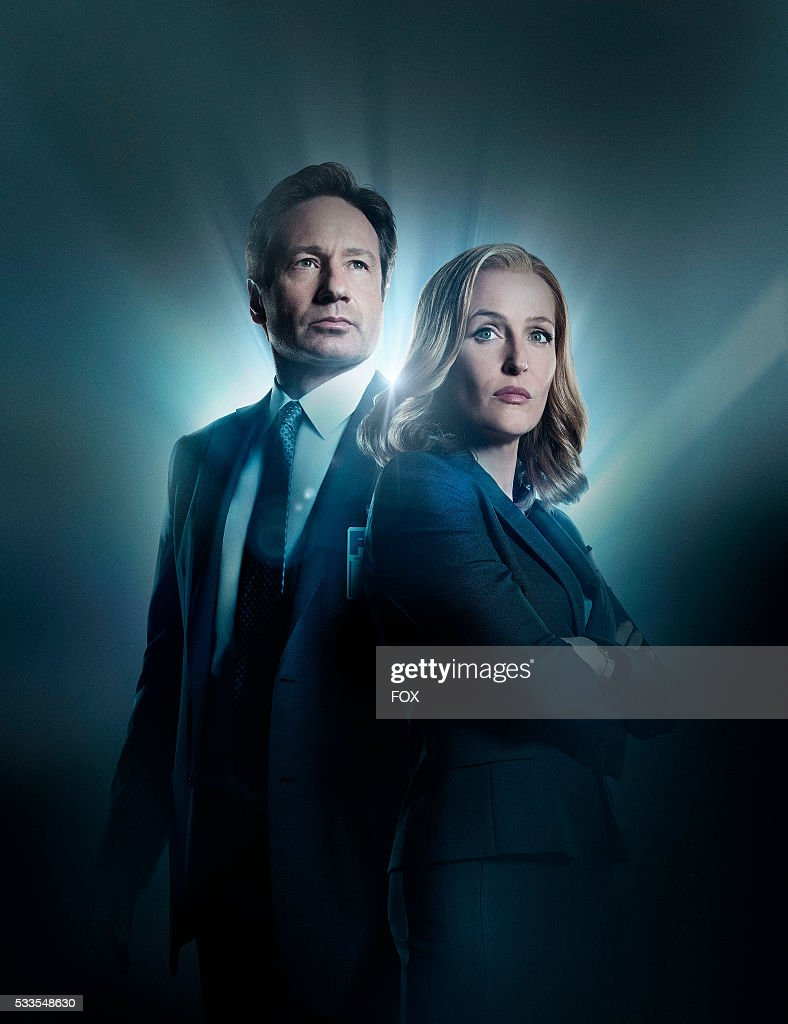 David Duchovny and Gillian Anderson. The next mind-bending chapter of THE X-FILES debuts with a special two-night event beginning Sunday, Jan. 24 (10:00-11:00 PM ET/7:00-8:00 PM PT), following the NFC CHAMPIONSHIP GAME, and continuing with its time period premiere on Monday, Jan. 25 (8:00-9:00 PM ET/PT).