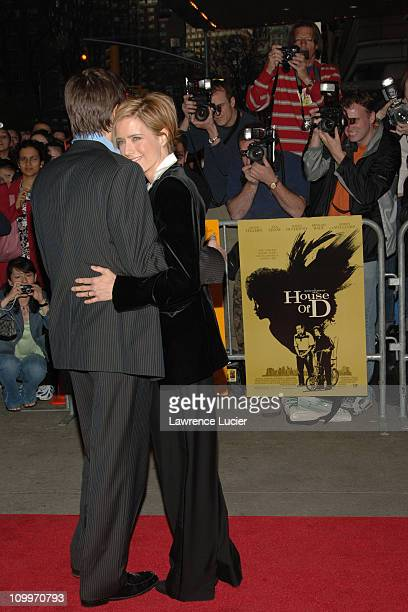 David Duchovny and Tea Leoni during House of D New York Premiere at Loews Lincoln Square in New York City New York United States