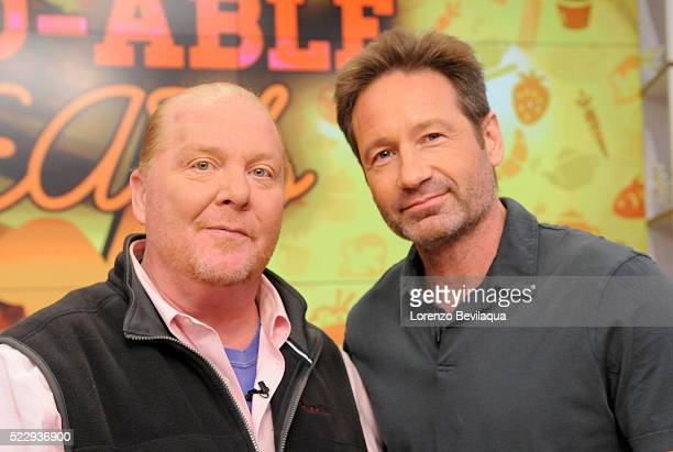 THE CHEW 4/21/16 David Duchovny appears on 'THE CHEW' airing MONDAY FRIDAY on the ABC Television Network DUCHOVNY
