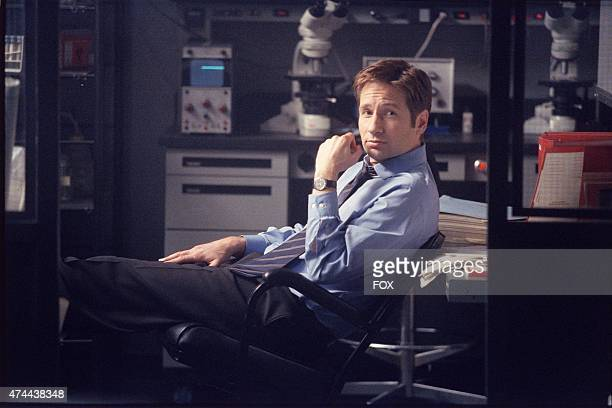 David Duchovny as Agent Fox Mulder in the Vienen episode of THE XFILES which originally aired Sun April 29 2001 on FOX
