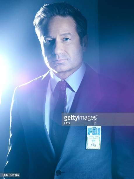 David Duchovny as FBI Special Agent Fox Mulder in THE XFILES premiering Wednesday Jan 3 on FOX