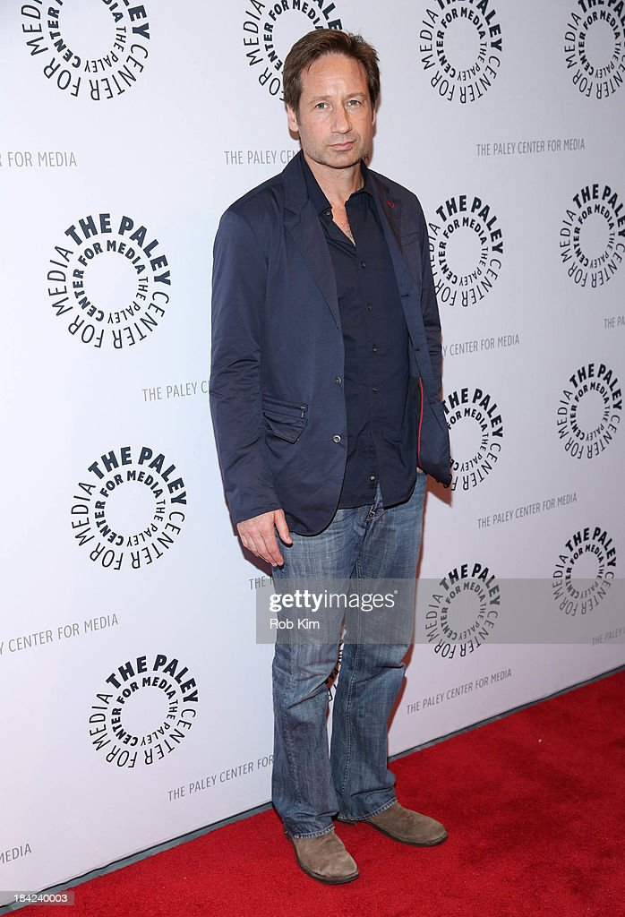 David Duchovny attends 'The Truth Is Here: David Duchovny And Gillian Anderson On The X-Files' presented by the Paley Center For Media at Paley Center For Media on October 12, 2013 in New York City.