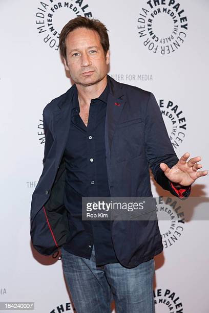 David Duchovny attends The Truth Is Here David Duchovny And Gillian Anderson On The XFiles presented by the Paley Center For Media at Paley Center...