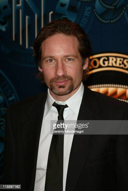 David Duchovny during American Society of Cinematographers 18th Annual Outstanding Achievement Awards Press Room at Century Plaza Hotel in Century...