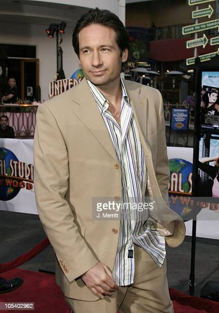 David Duchovny during Connie and Carla World Premiere at Universal Studios Cinema in Universal City California United States