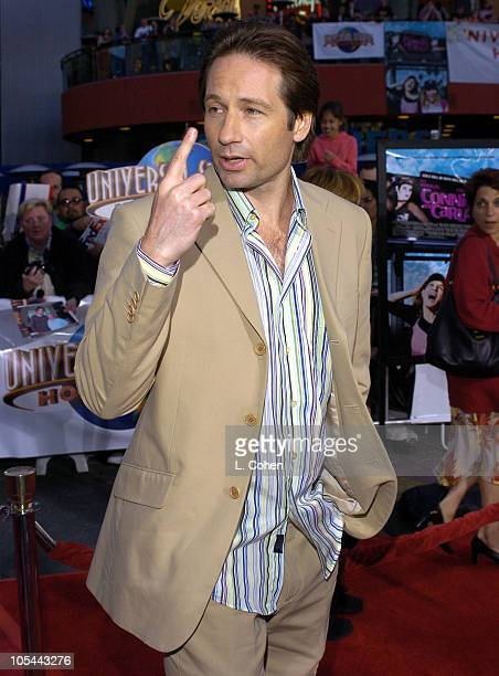 "David Duchovny during ""Connie and Carla"" World Premiere - Red Carpet at Universal Studios Cinema in Universal City, California, United States."