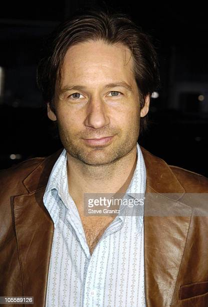 """David Duchovny during """"Friday Night Lights"""" Los Angeles Premiere - Arrivals at Grauman's Chinese Theatre in Hollywood, California, United States."""