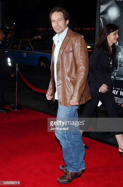 """David Duchovny during """"Friday Night Lights"""" - World Premiere at Grauman's Chinese Theatre in Hollywood, California, United States."""