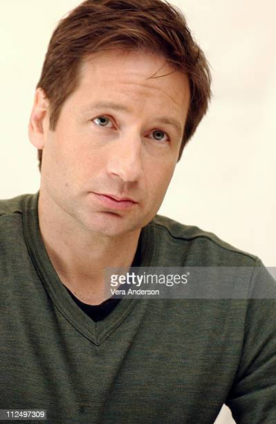 David Duchovny during House of D Press Conference with David Duchovny at Four Seasons Hotel in Beverly Hills California United States