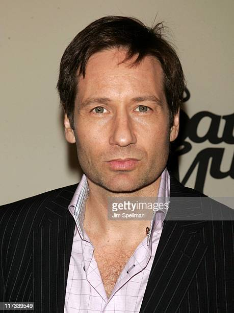 David Duchovny during VH1 Save The Music: A Concert To Benefit The VH1 Save The Music Foundation - Arrivals at Beacon Theatre in New York City, New...