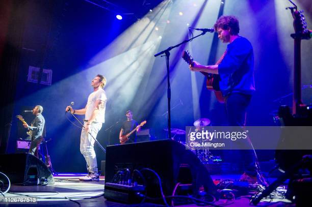 David Duchovny performs at O2 Shepherd's Bush Empire during the European 2019 Every Third Thought Tour on February 22, 2019 in London, England.