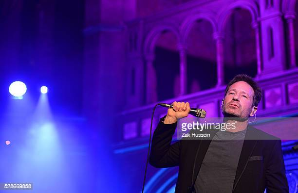 David Duchovny performs at the Union Chapel on May 6 2016 in London England