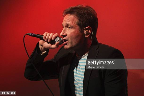 David Duchovny performs in Concert at Sala Barts on May 14 2016 in Barcelona Spain
