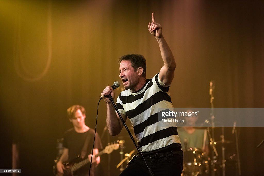 David Duchovny Performs At Melkweg In Amsterdam : News Photo