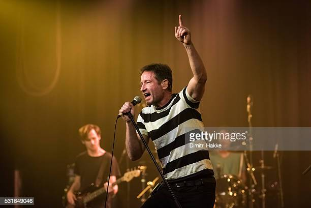 David Duchovny performs on stage at Melkweg on May 09 2016 in Amsterdam Netherlands