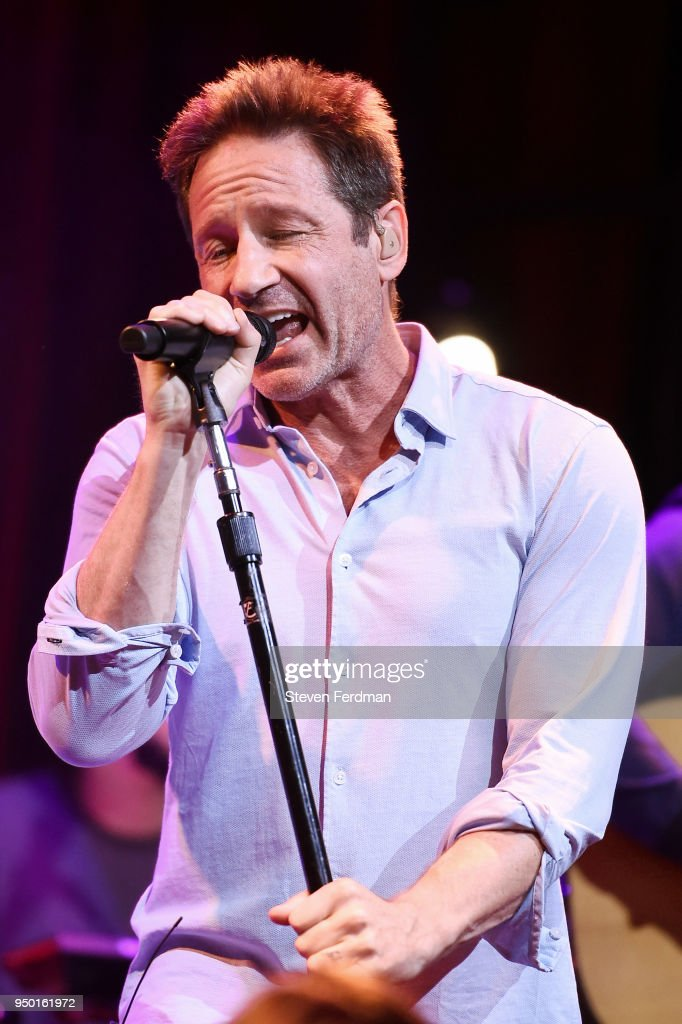 David Duchovny Performance - 2018 Tribeca Film Festival
