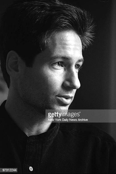 David Duchovny who plays FBI agent Fox Mulder in the TV series 'The X Files'