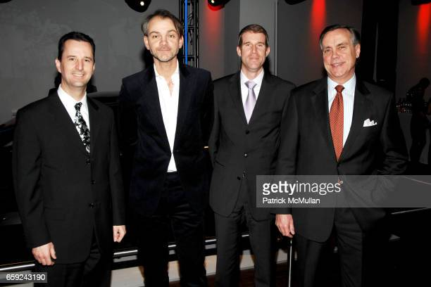 David Duncan Adrian Van Hooydonk Oliver Rademacher and Gene Donnelly attend VOGUE and BMW party to celebrate the new 2009 BMW 7 Series with Free Arts...
