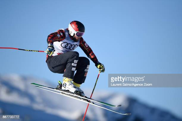 David Duncan of Canada during qualifications during the FIS Freestyle Ski World Cup Men's and Women's Ski Cross on December 7 2017 in Val Thorens...