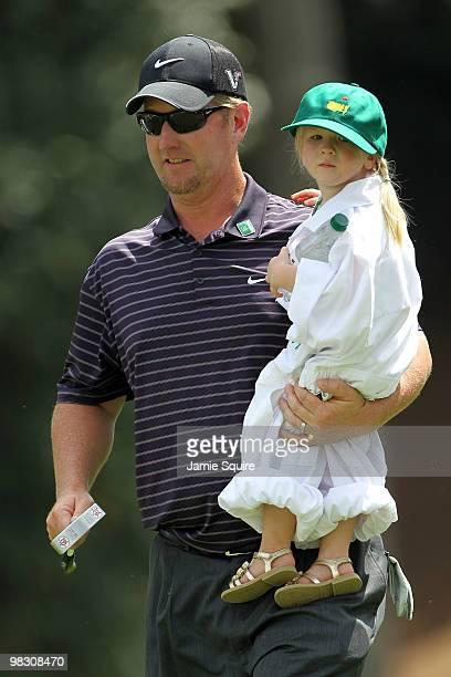 Photo of David Duval  & his  Daughter  Sienna Duval