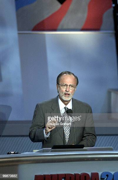 David E Bonior DMichduring his speech at the democratic national convention in California