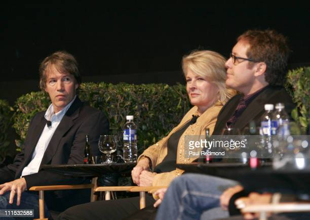 David E Kelley Candice Bergen and James Spader during The Academy of Television Arts Sciences Presents An Evening With Boston Legal at Leonard H...