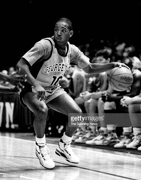 David Edwards of the Georgetown Hoyas circa 1989