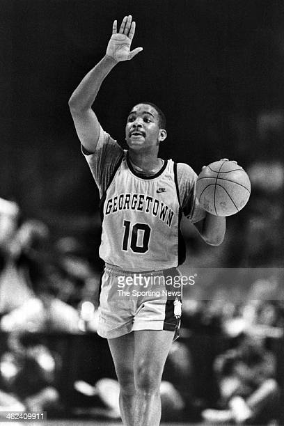 David Edwards of the Georgetown Hoyas circa 1990