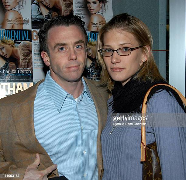 David Eigenberg and Chrysti Eigenberg during Gotham Magazine Hosts Rebecca Bloom's Book Party at Suede in New York City New York United States