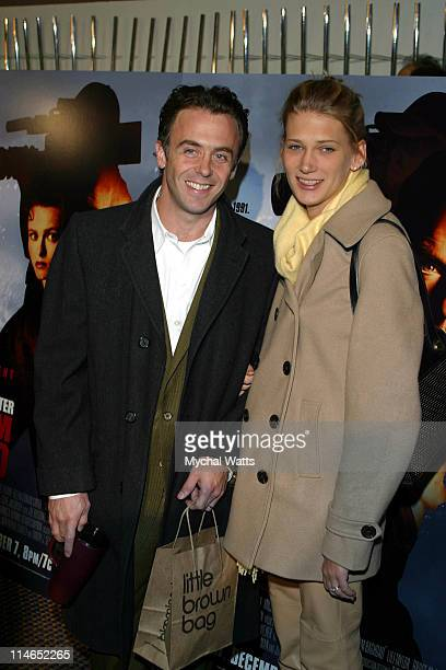 David Eigenberg and wife Chrysti during HBO Presents the New York Premiere Of Live From Baghdad at City Cinema in New York City New York United States