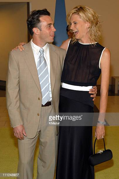 David Eigenberg and Wife Chrysti during Sex and the City Sixth Season Premiere at American Museum of Natural History in New York City New York United...