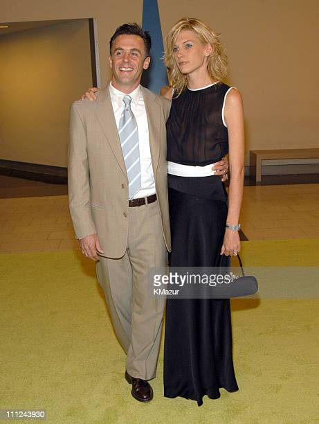 David Eigenberg and Wife Chrysti wearing Luca Luca