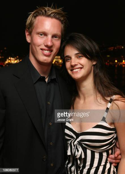David Ellison and Jennifer Decker during 2006 Cannes Film Festival Flyboys Party at Larry Ellison's Rising Son in Cannes France
