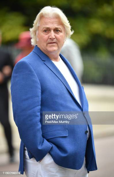David Emanuel attends the wedding of Lady Gabriella Windsor and Thomas Kingston at St George's Chapel on May 18 2019 in Windsor England