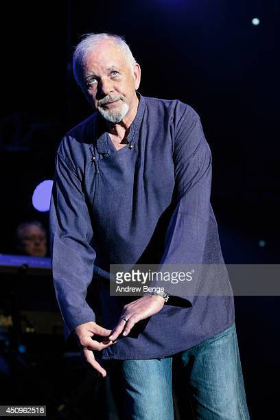 David Essex performs on stage at Phones 4 U Arena on June 20, 2014 in Manchester, United Kingdom.