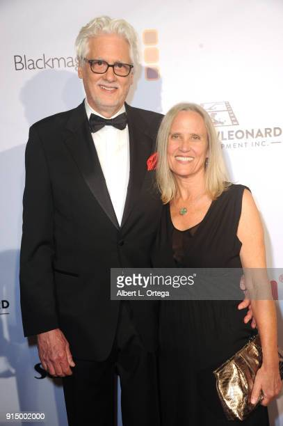 David Eubank and Anita Bunn arrive for Society of Camera Operators Lifetime Achievement Awards held at Loews Hollywood Hotel on February 3 2018 in...