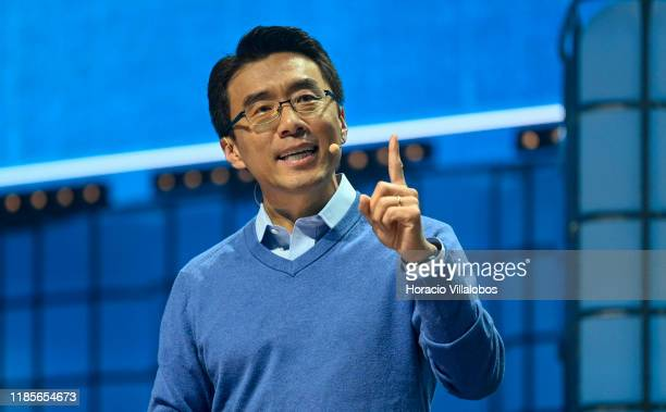 David Eun Chief Innovation Officer Samsung Electronics President Samsung NEXT Samsung speaks on Your home in 2025 at Center Stage of Web Summit in...
